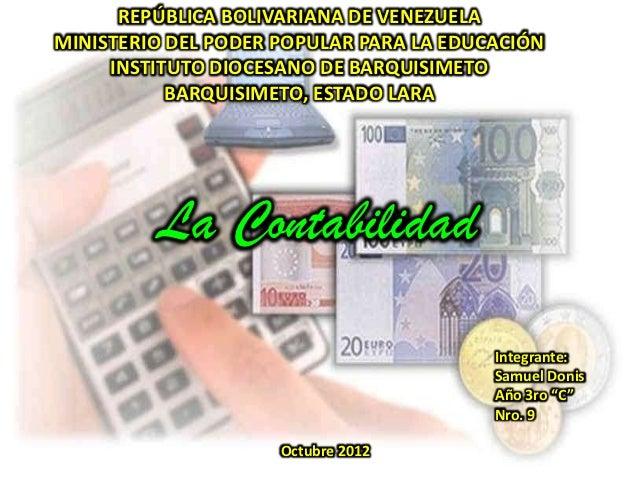 REPÚBLICA BOLIVARIANA DE VENEZUELAMINISTERIO DEL PODER POPULAR PARA LA EDUCACIÓN     INSTITUTO DIOCESANO DE BARQUISIMETO  ...