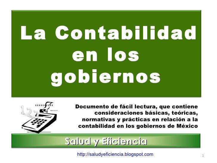 Documento de fácil lectura, que contiene consideraciones básicas, teóricas, normativas y prácticas en relación a la contab...