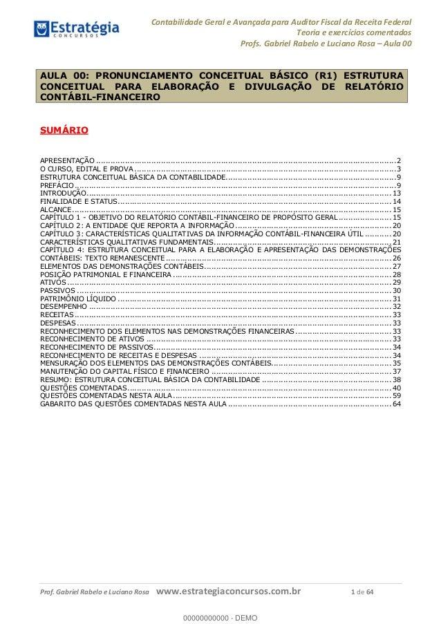 Exame contabilidade e auditoria