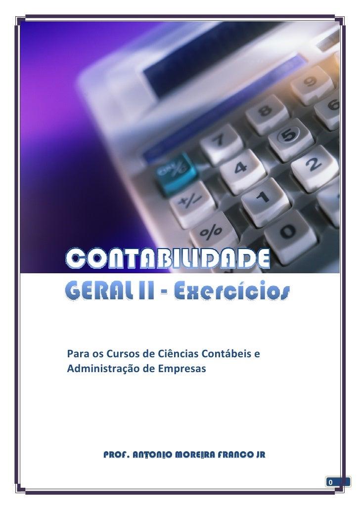Capítulo1–Depreciação                                 Prof.Moreira                               ParaosCursosde...