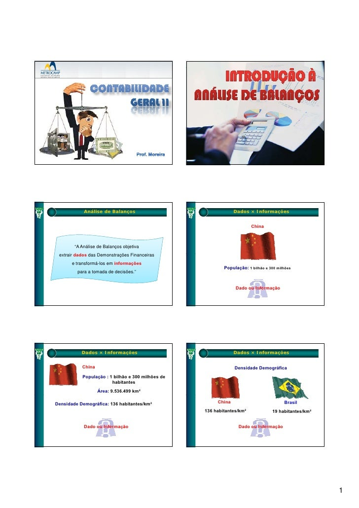 Contabilidade geral ii slides analise