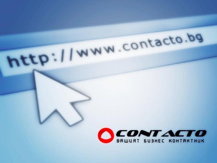Contacto Presentation Pimped