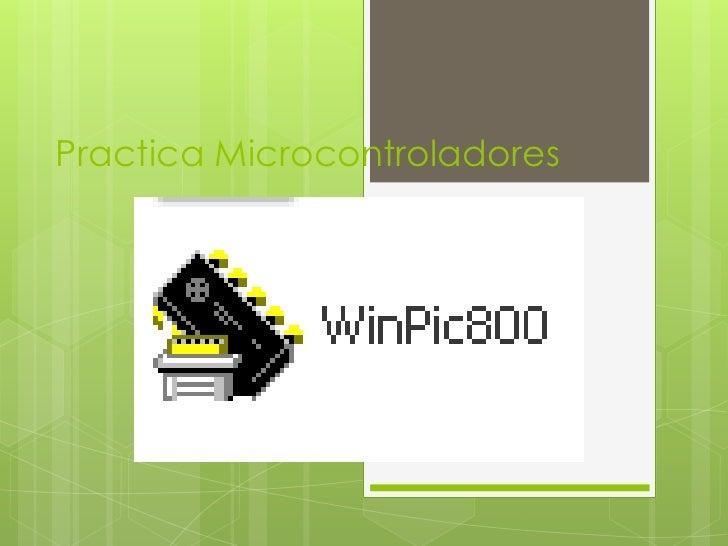 Practica Microcontroladores