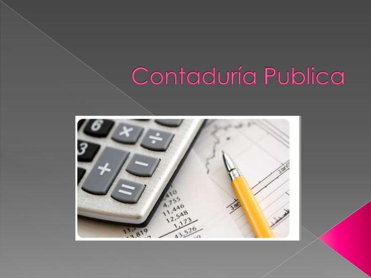 Contaduría Publica <br />