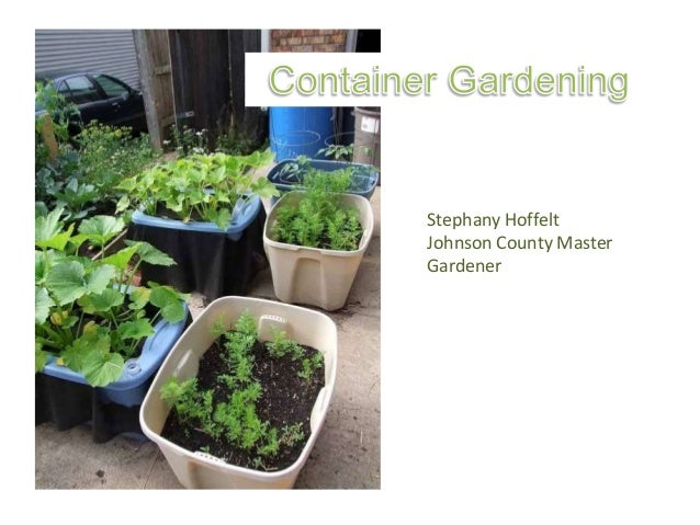 Stephany Hoffelt Johnson County Master Gardener
