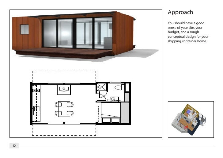 Container van house floor plan house design plans for Plan container