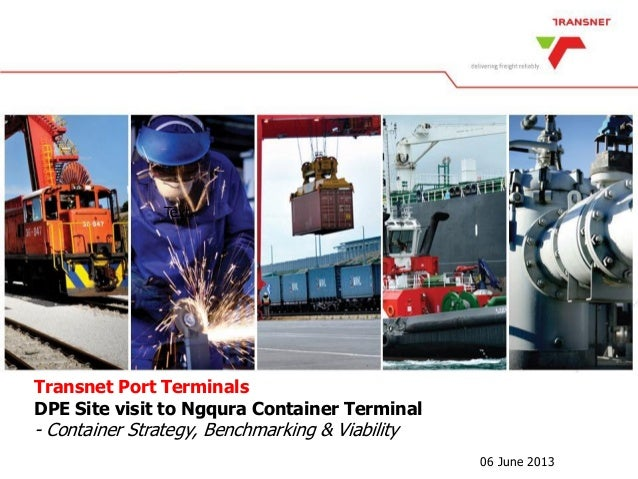 Container Strategy, benchmarking and viability  Ngqura Container Terminal