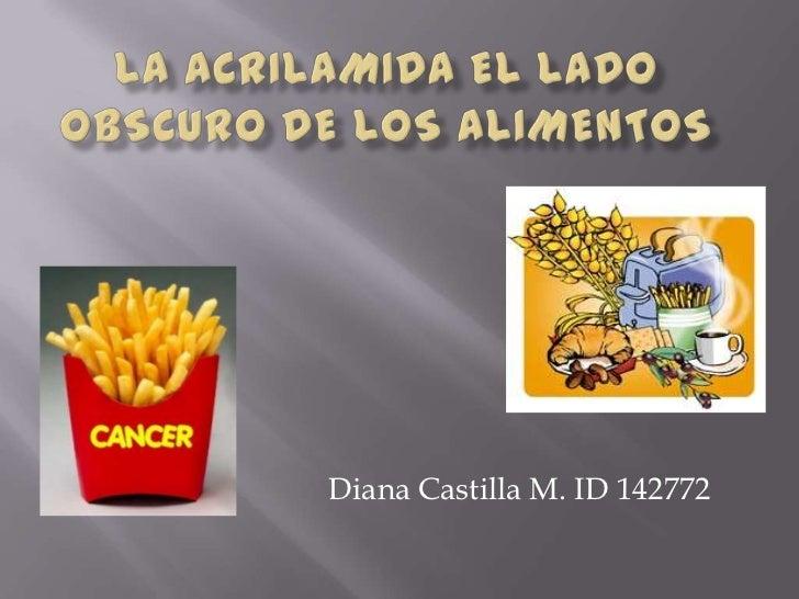 Diana Castilla M. ID 142772