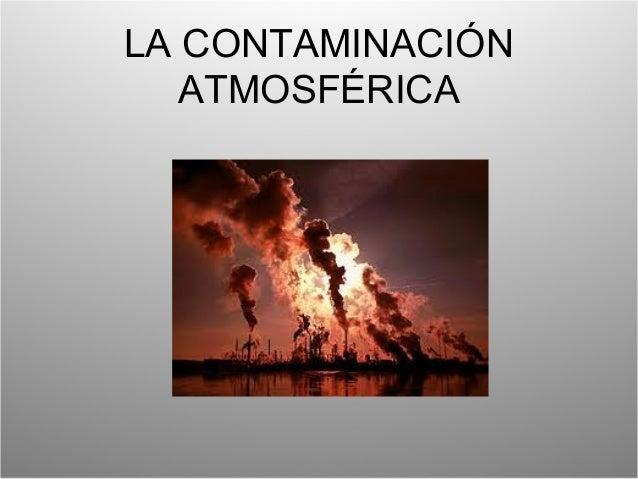 Contaminación atm