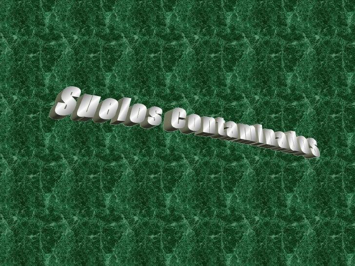 Contaminacion De Suelos 3