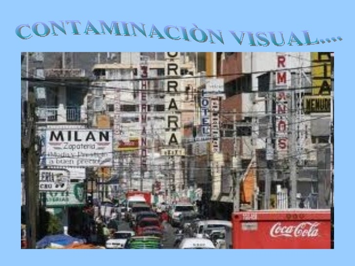 Contaminacion visualll