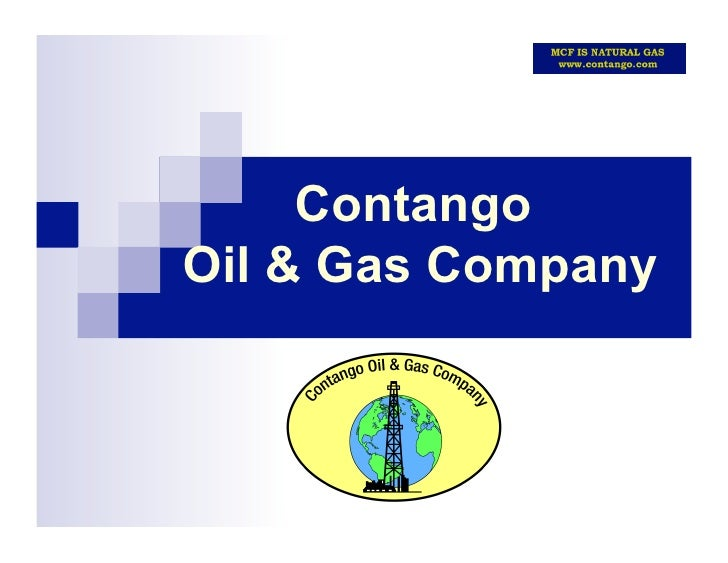 Contango Oil And Gas Company - January 2010