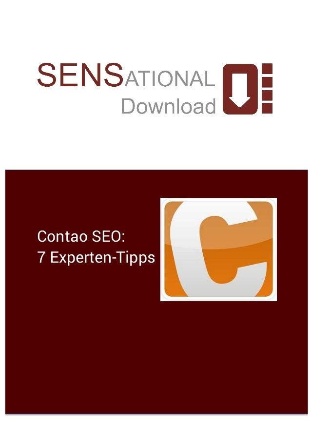 Contao SEO: 7 Experten-Tipps