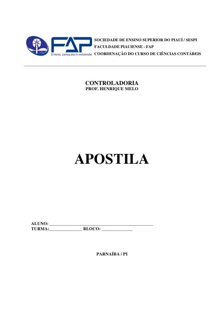 SOCIEDADE DE ENSINO SUPERIOR DO PIAUÍ / SESPI                             FACULDADE PIAUIENSE - FAP                       ...