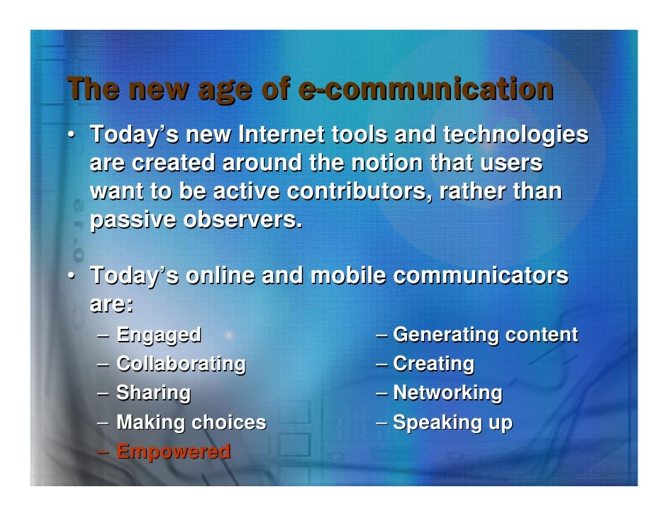 contemporary communication Ma in contemporary communication effective and strategically oriented communication professionals require knowledge of new communication approaches.