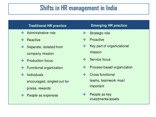 contemporary hr A human resources management framework does not exist in a vacuum but is contemporary approaches to balancing work and family needs be swift, transparent and.