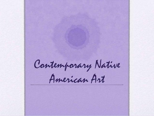 Contemporarynativeamericanart