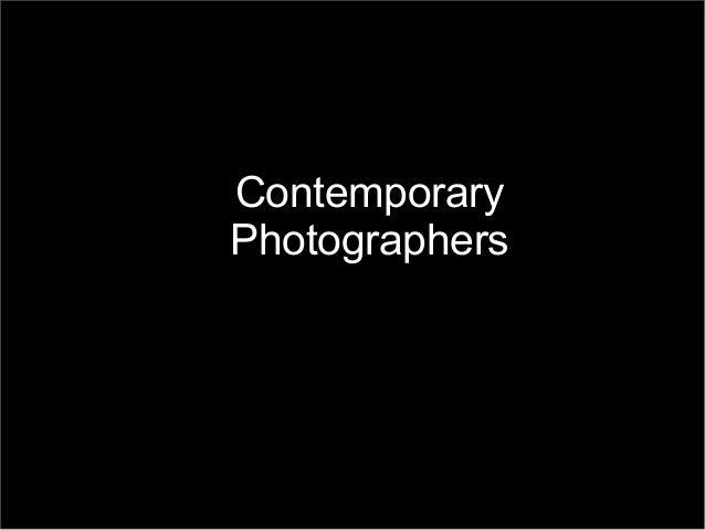 ContemporaryPhotographers    Boogie