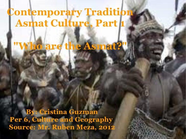 Contemporary tradition asmat_culture_part_1