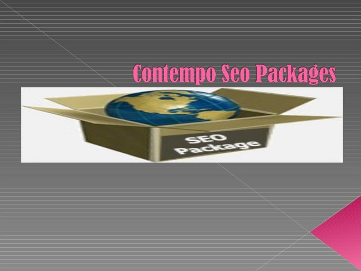 Contempo technologies seo packages