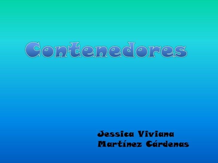 Jessica VivianaMartínez Cárdenas