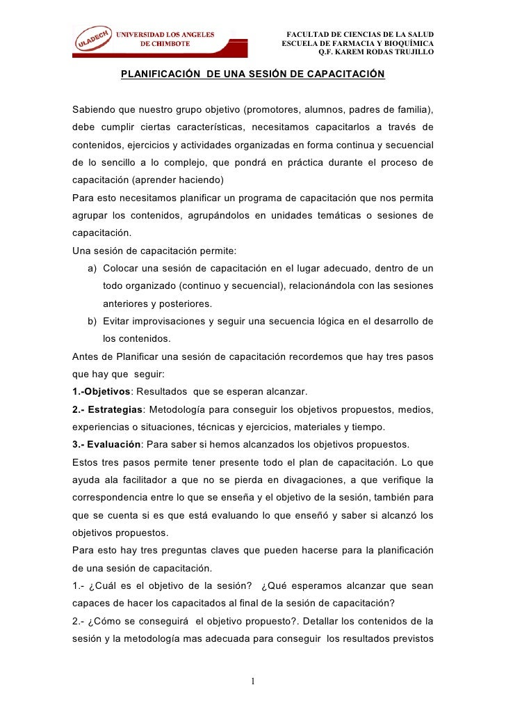 FACULTAD DE CIENCIAS DE LA SALUD                                                ESCUELA DE FARMACIA Y BIOQUÍMICA          ...