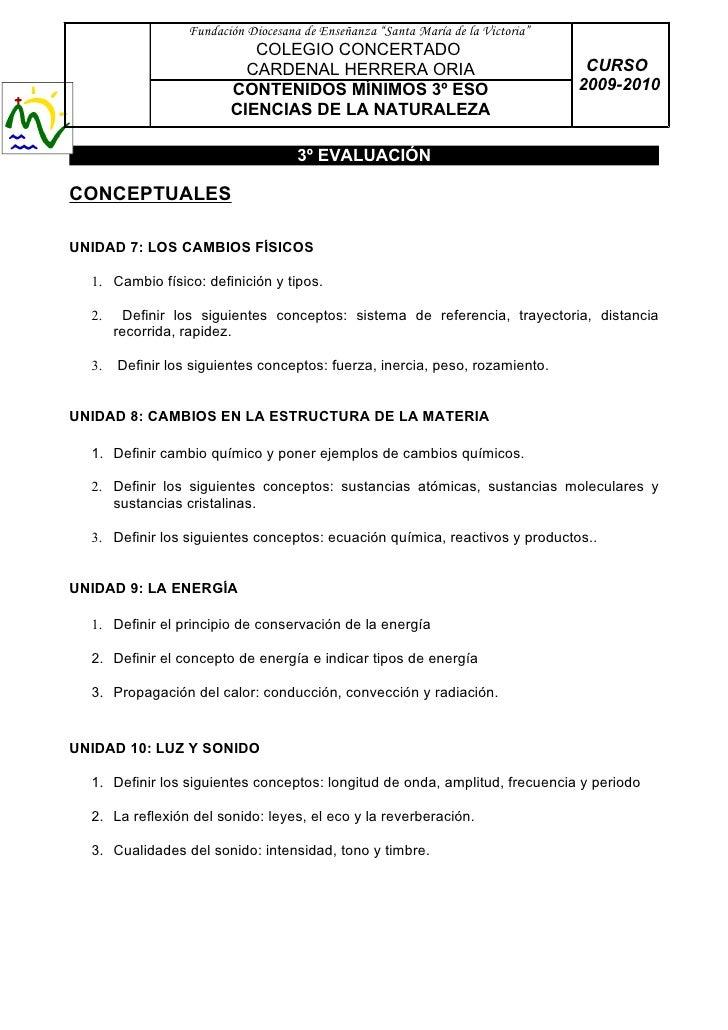 """Fundación Diocesana de Enseñanza """"Santa María de la Victoria""""                             COLEGIO CONCERTADO              ..."""