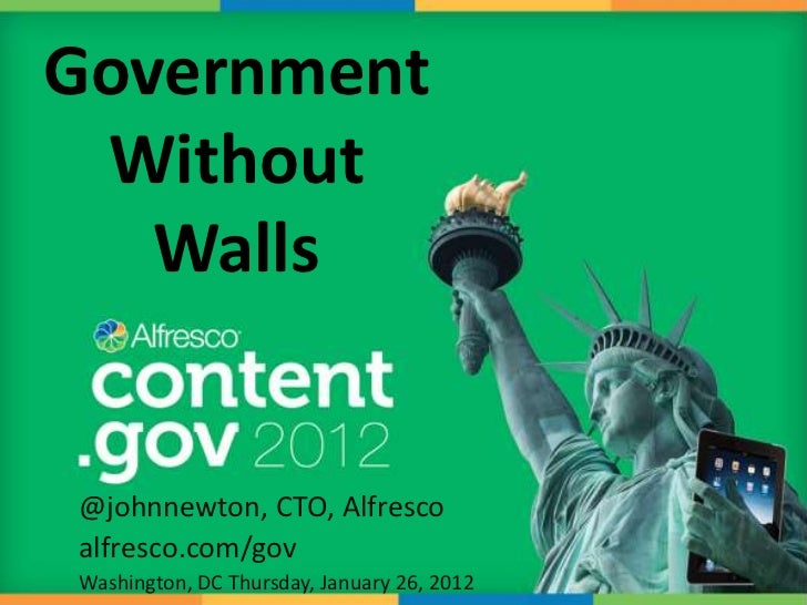 Government Without Walls