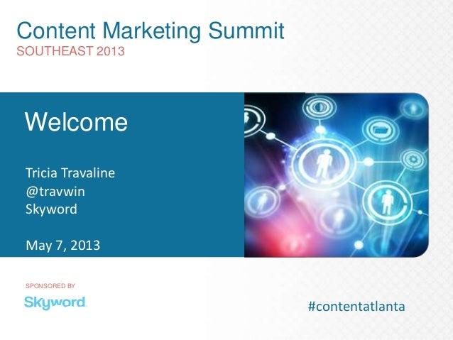 Content marketing-summit-southeast 5-7
