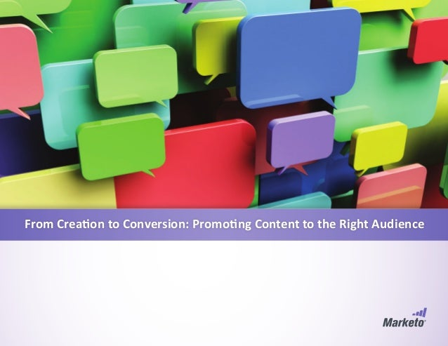 From Creation to Conversion: Promoting Content to the Right Audience