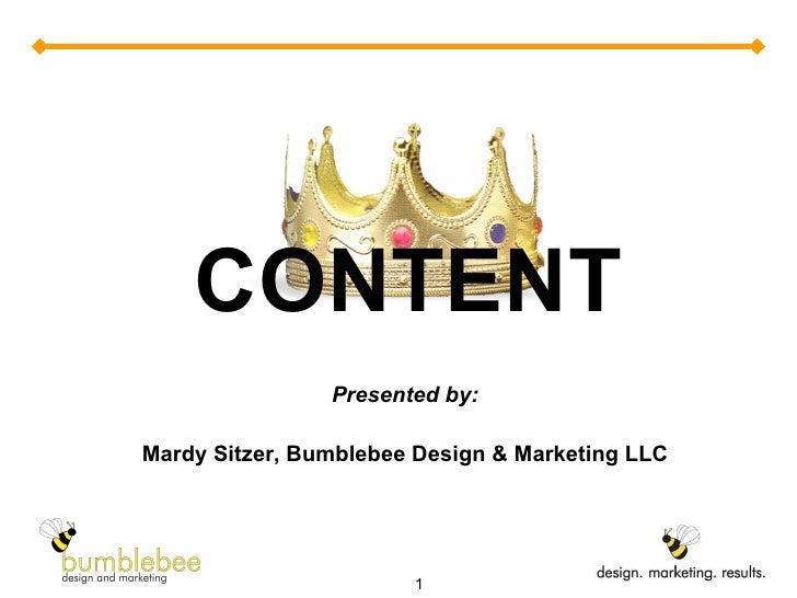 Content is King/SocialMediaCampNYC-feb2011