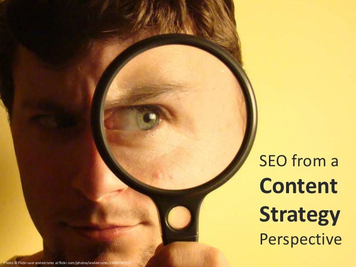 SEO From a Content Strategy Perspective