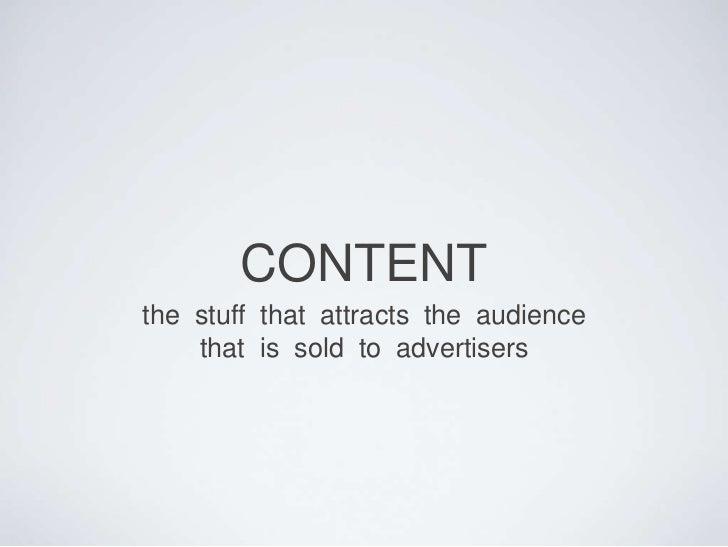 Content (Programming)