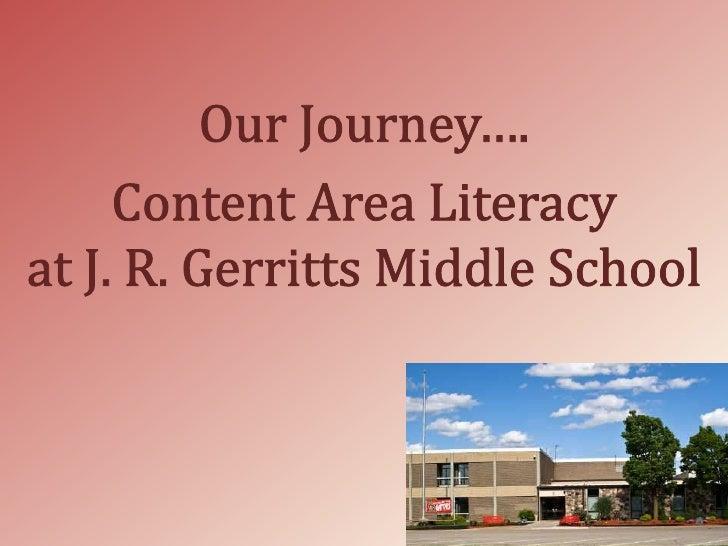 Content Area Literacy