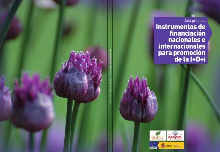 Instrumentos de financiación nacionales e internacionales para promoción de la I+D+iIntroducciónLa presión sobre las energ...