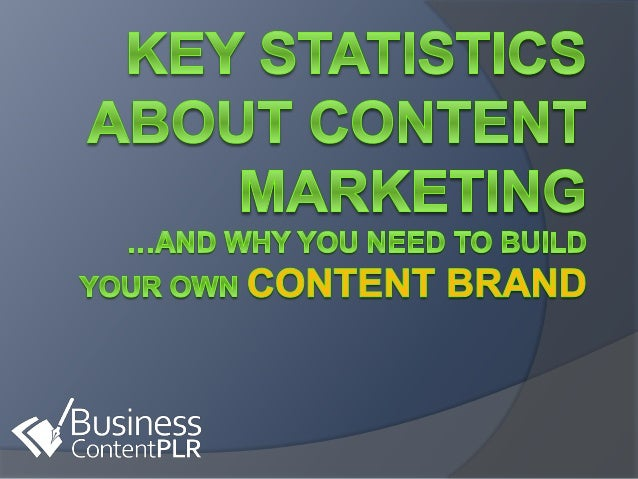 Key Statistics About Content Marketing