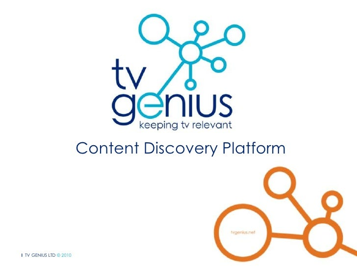 Content Discovery Platform<br />