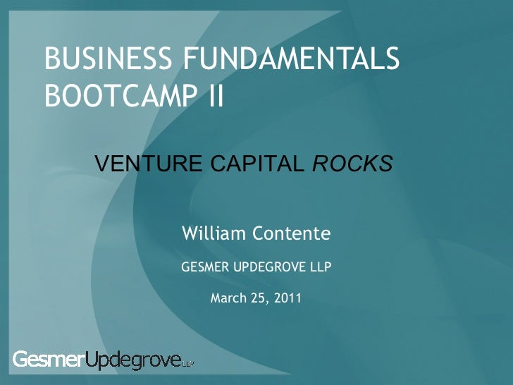 Contente  business bootcamp ii