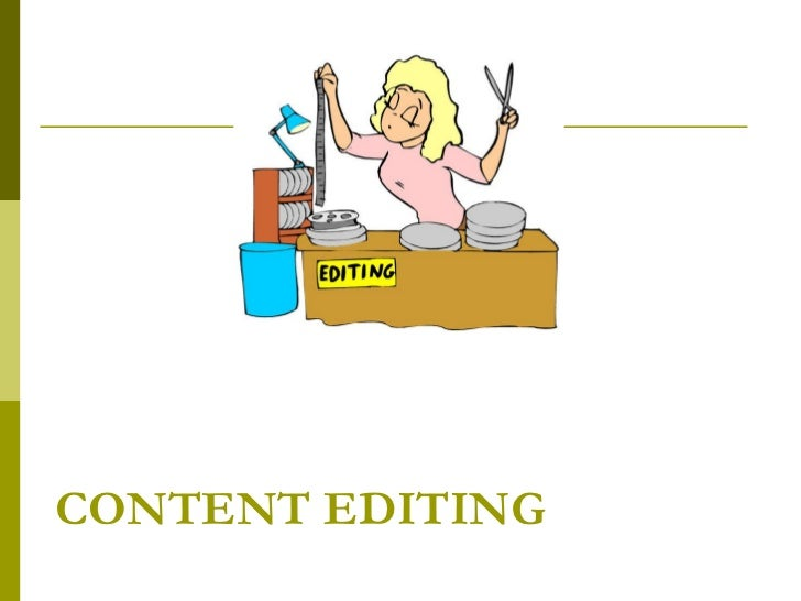 Principles of Content Editing for Content Writers