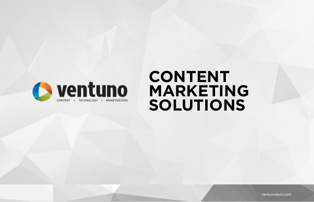 Content Marketing Solution