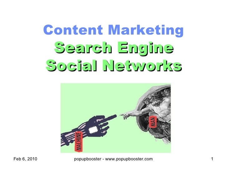 Content Marketing   Search Engine Vs Social Networks