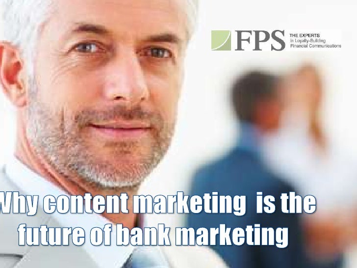 Why Publishing is the Future of Bank Marketing