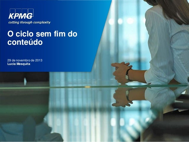 Content Marketing Brasil: apresentação KPMG