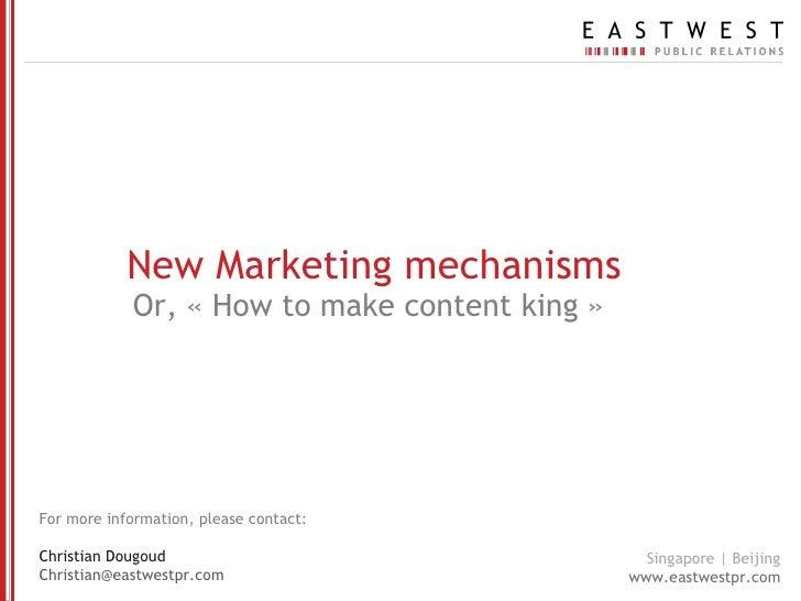 Content marketing eastwest_public_relations_2010