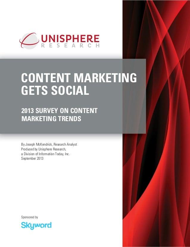 Content Marketing Gets Social   skyword
