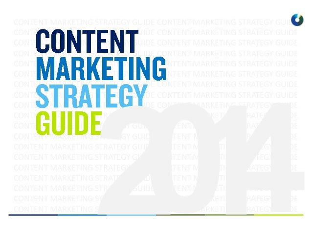 Content marketing guide 2014