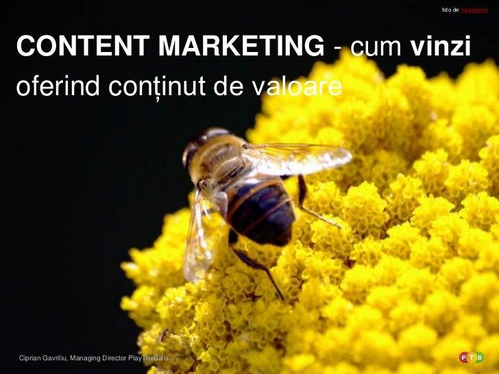 Content marketing in romania