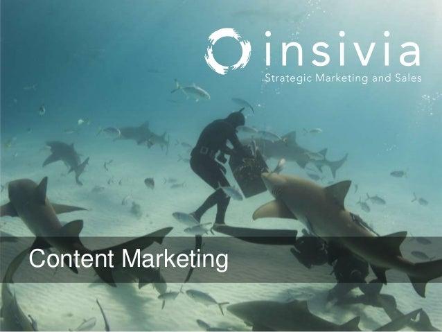Insivia Seminar Series: Content Marketing