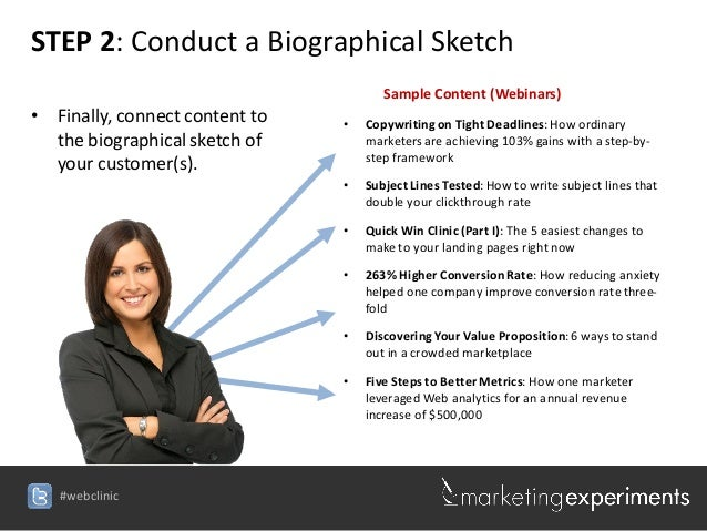 Tips on Writing a Biographical Sketch