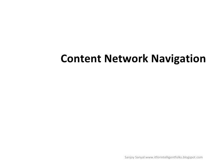 Content Navigation